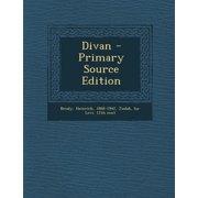 Divan (Primary Source)