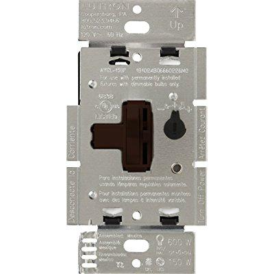 Lighting Dimmer,Toggle,Ivory,120V LUTRON AYCL-153P-IV by Lutron Electronics Company, Inc.