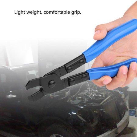 Qiilu Pince de serrage pour démarrage CV en acier au carbone pour tous les colliers de serrage type sans oreille CVJ, pinces de démarrage CVJ, pince de serrage - image 5 de 8