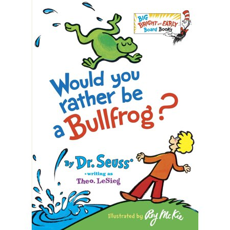 Would You Rather Be a Bullfrog? (Board - Would You Rather Halloween