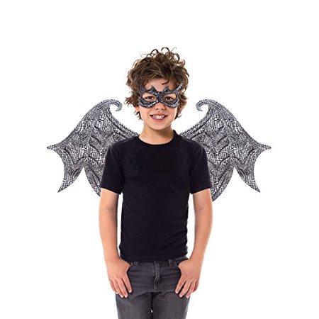 Little Adventures Reversible Dragon Mask And Wing Sets For Boys & Girls - Black - image 5 de 5