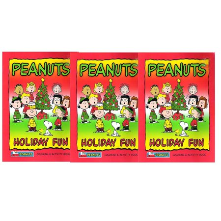Peanuts Halloween Coloring Pages (2005 Paradise Press Peanuts Holiday Fun: Coloring & Activity Book Collector's Bundle Set of)