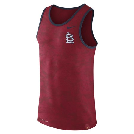 Men's Nike Red St. Louis Cardinals Premium Performance Tank (Nike Dual Fusion St 3 Mens Review)