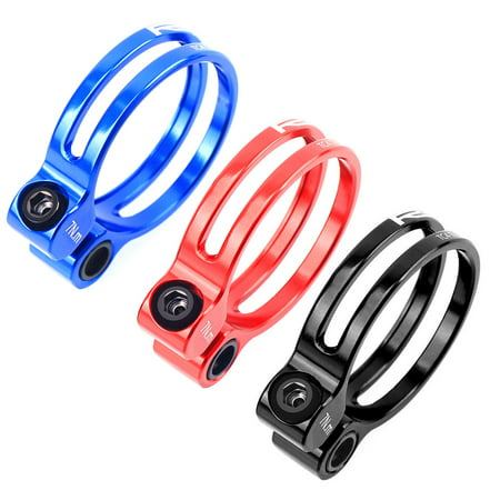 1pc aluminum alloy mountain bicycle 31.8mm//34.9mm seat post seatpost clamp  TKI
