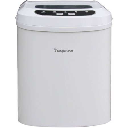Countertop Ice Maker At Walmart : Magic Chef Portable Countertop 27-Pound Ice Maker, White - Walmart.com