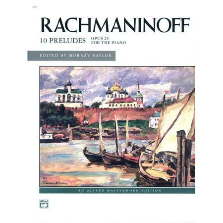 Alfred Masterwork Editions: Rachmaninoff -- Preludes, Op. 23 (Rachmaninoff Op 23 No 5 Sheet Music)