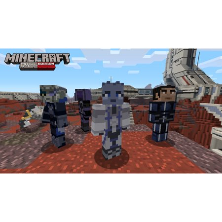 Minecraft: Wii U Edition DLC - Mass Effect Mash-up Pack, Nintendo, WIIU, [Digital Download],