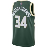 Giannis Antetokounmpo Milwaukee Bucks Nike Swingman Jersey Green - Icon  Edition Image 3 of 3 07a3edcaf