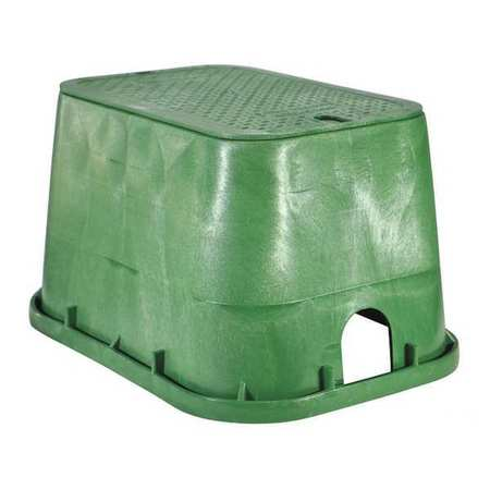 Valve Box,Rectangular,12-1/4 x15-5/16