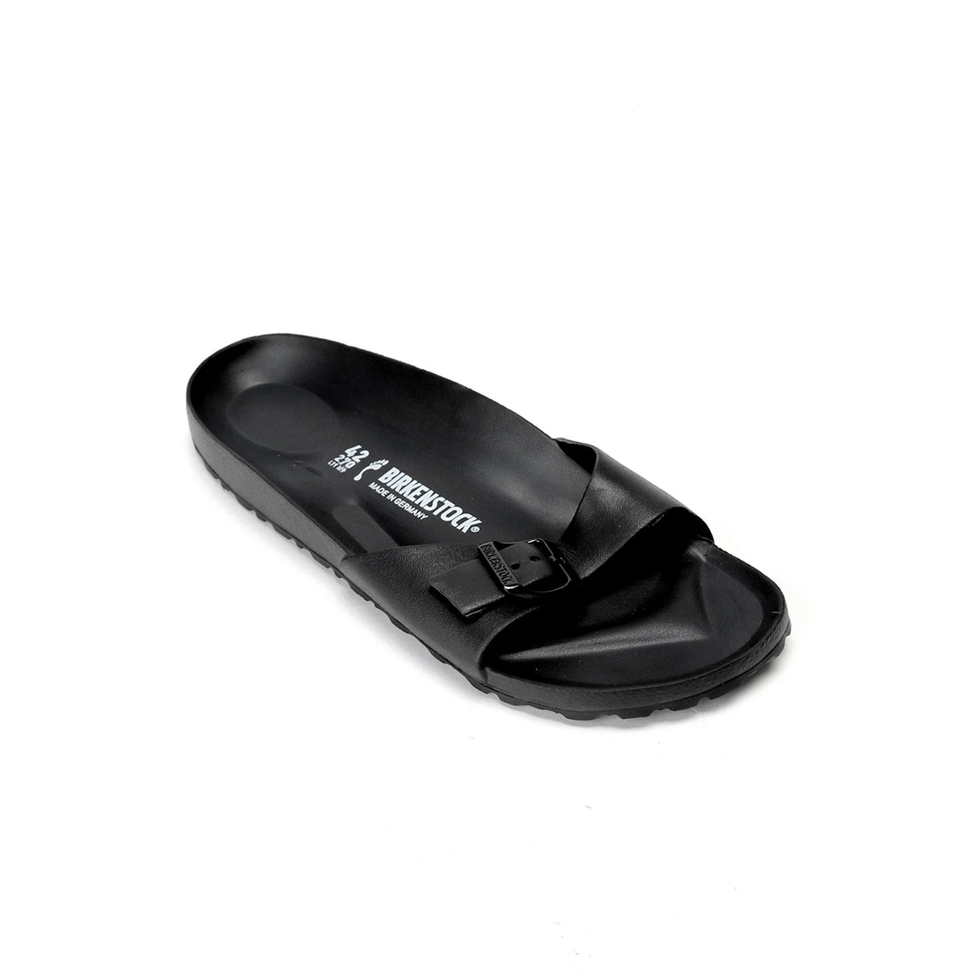 stable quality good great fit Birkenstock Rubber Slippers in Black | Walmart Canada