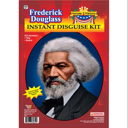 Famous American Abolitionist Frederick Douglass Disguise Men Kit for $<!---->