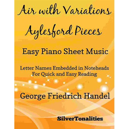 Air With Variations Aylesford Pieces Easy Piano Sheet Music - eBook Easy Pieces Sheet Music