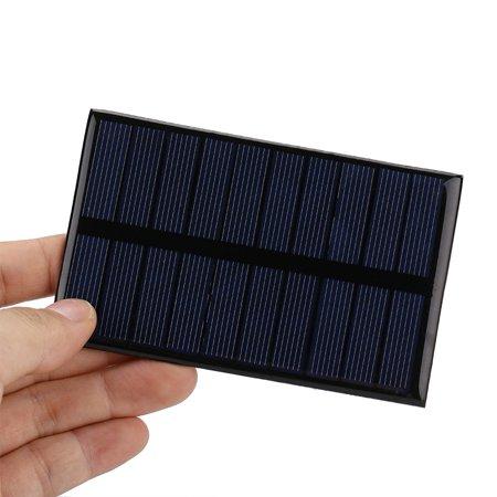 Sonew 1.2W 5V Mini Portable Polycrystalline Solar Panel DIY Power Module Charger 110*69mm, Battery Solar Panel, Mini Solar Panel - image 7 of 8