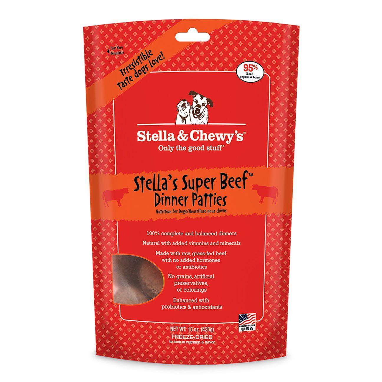 Hillman Stella ; Chewy's Freeze-Dried Raw Chewy's Chicken Dinner Patties Dog Food