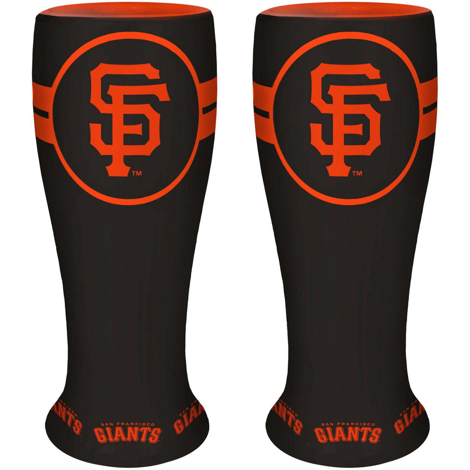 MLB San Francisco Giants 2-Pack Ceramic Pilsner