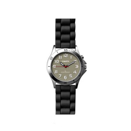 Water resistant, Nurse Watch with Silicon Strap and EL Backlight 200m Water Resistant Watch