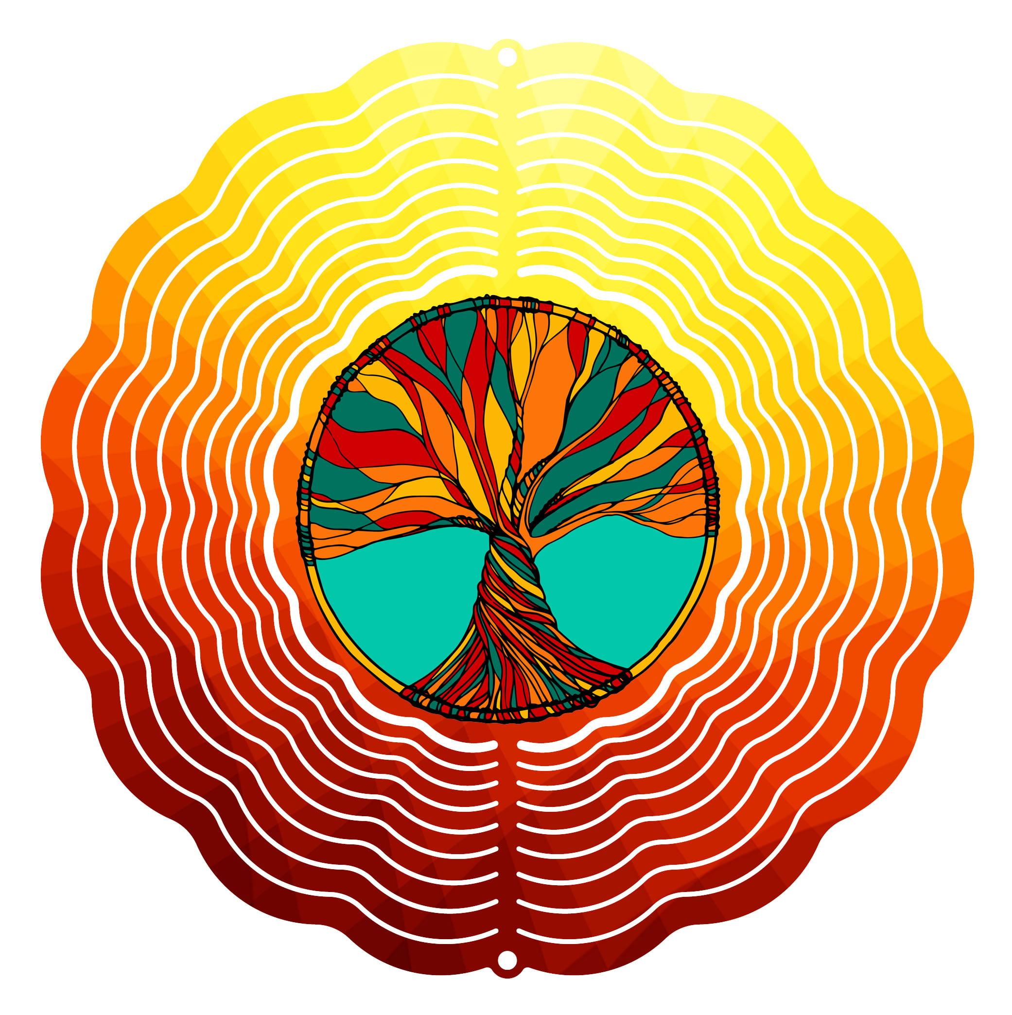 "Garden Wind Spinner Tree of Life 10"" Wind Spinner by Next Innovations"