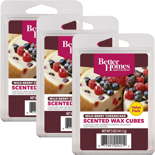 Better Homes and Gardens Value Wax Pack, Wild Berry Cheesecake