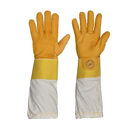 Bumble Bee Gloves (Humble Bee 113-M Beekeeping Gloves with Reinforced Cuffs)