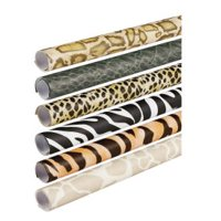 """Fadeless Bulletin Board Art Paper, 24"""" x 8' Rolls, Safari Assortment"""
