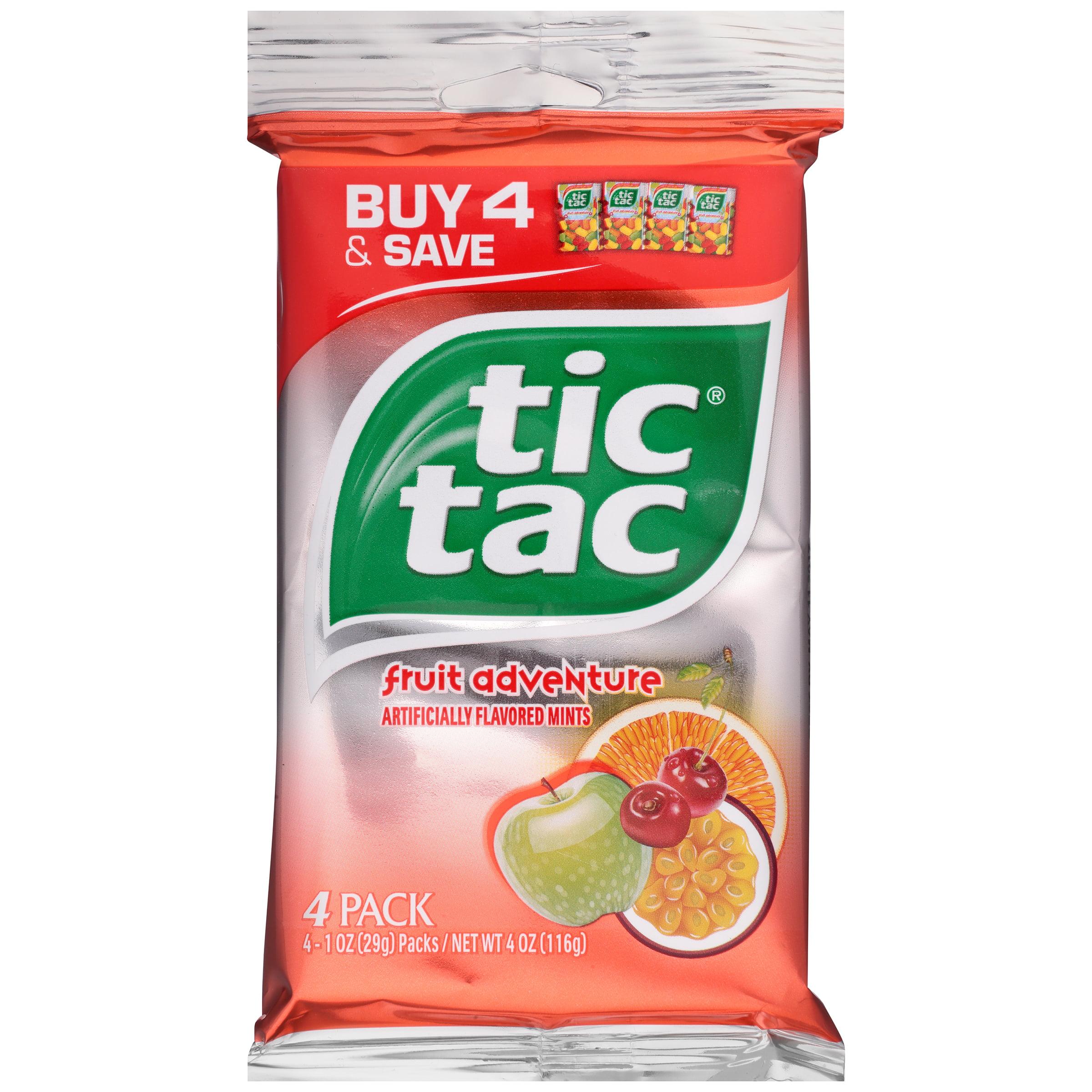Fruit Adventure Tic Tac Mints 4-1 oz. Packs by Ferrero U.S.A., Inc.