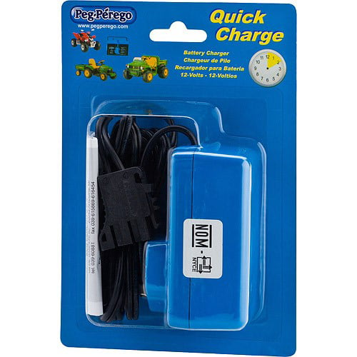 Peg Perego 12 Volt Quick Charger For Peg Perego John Deere Polaris And Ducati Ride Ons Walmart Com Walmart Com