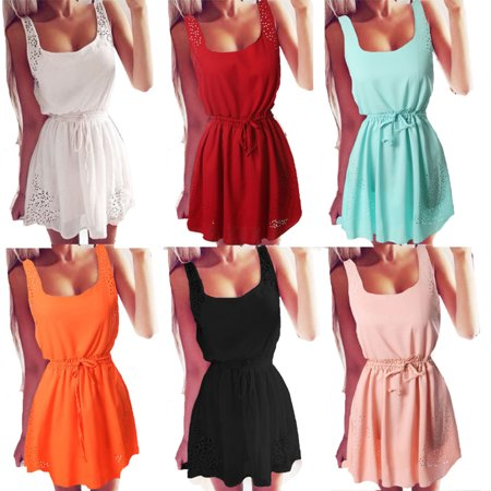 Plus Size S-XXXL Summer dress vestido women Sexy Sleeveless Casual Party Beach Sundress Short Mini Dress zanzea