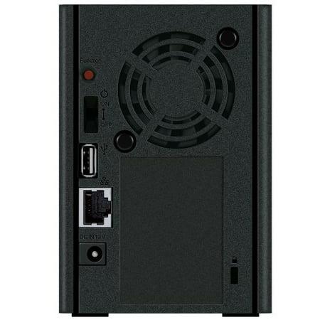 Buffalo LinkStation 220 2 TB 2-Drive NAS for Home (LS220D0202) Buffalo LinkStation 220 Network Attached Storage LS220D0202 Network Attached Storage