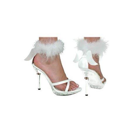 Morris Shoe Sexy Angel Wht Wmn Lg Large-HA50WTLG - Secy Shoes