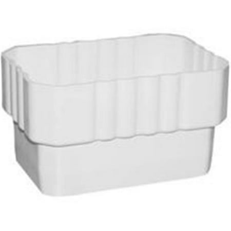 Genova Products Inc Coupler Downspout 3X4In White AW303 - image 1 de 1