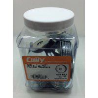 Cully 40745J 3/8X1-1/2 ZP FENDER Washer (100-Pack)