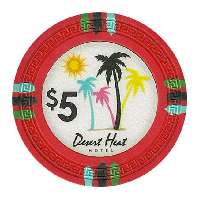 CPDH-Dollar 5 Desert Heat 13.5 g - 5 Dollar - image 1 of 1