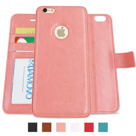 new style a45c0 2d95c Amovo Vegan Leather 2 in 1 Folio Detachable Wallet Case with Box for ...
