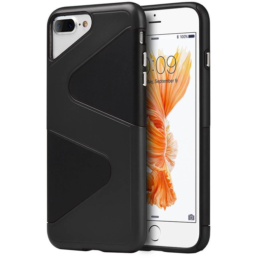 Apple iPhone 7 Plus Urban Armor Dual Hybrid Case, Black