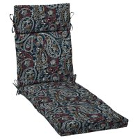 Arden Selections Palmira Paisley 72 x 21 in. Outdoor Chaise Lounge Cushion