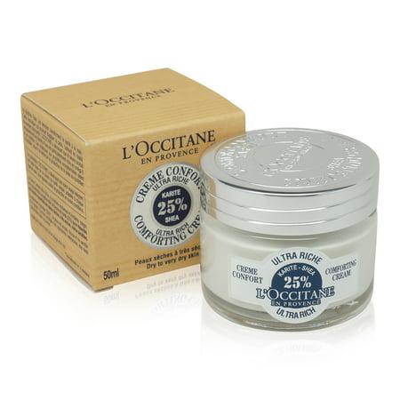 Shea Butter Ultra Rich Face Cream L'Occitane 1.7 oz Face Cream Unisex