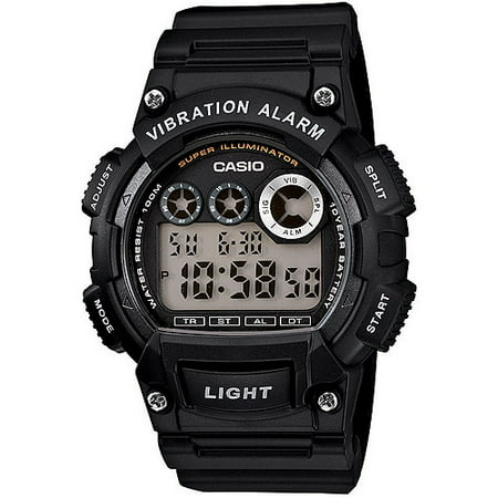 Casio Mens Sport Digital Watch  Black Resin Strap