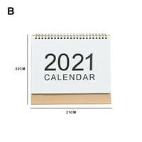 2019-2020 Desk Calendar Cute Animals Stand Up Desktop Flip Calendar Daily Monthly Table Planner Agenda for Home Office