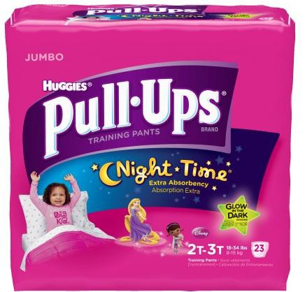 Toddler Training Pants Pull-Ups Pull On Disposable Heavy Absorbency 3T - 4T - 40 Count