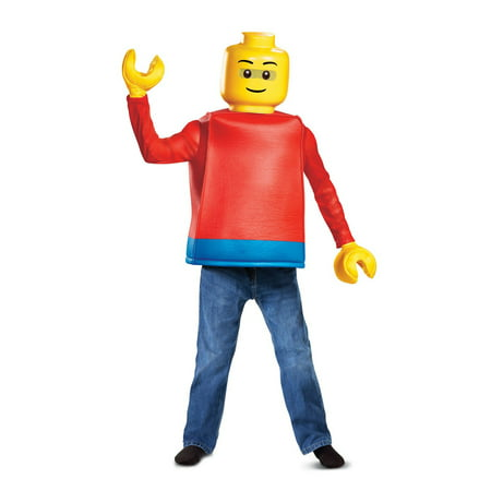Lego Iconic Lego Guy Classic Child Costume - Easy Guy Halloween Costumes