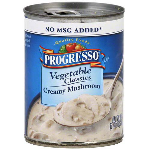 Progresso Vegetable Classics Creamy Mushroom Soup, 18 oz (Pack of 12)
