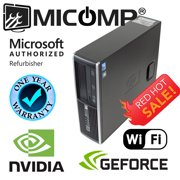 Refurbished Fast HP Gaming Computer Nvidia GTx 1050 Ti Video Core i5 3.2Ghz 16Gb New 500Gb SSD Windows 10 HDMI WiFi 1 Year Warranty