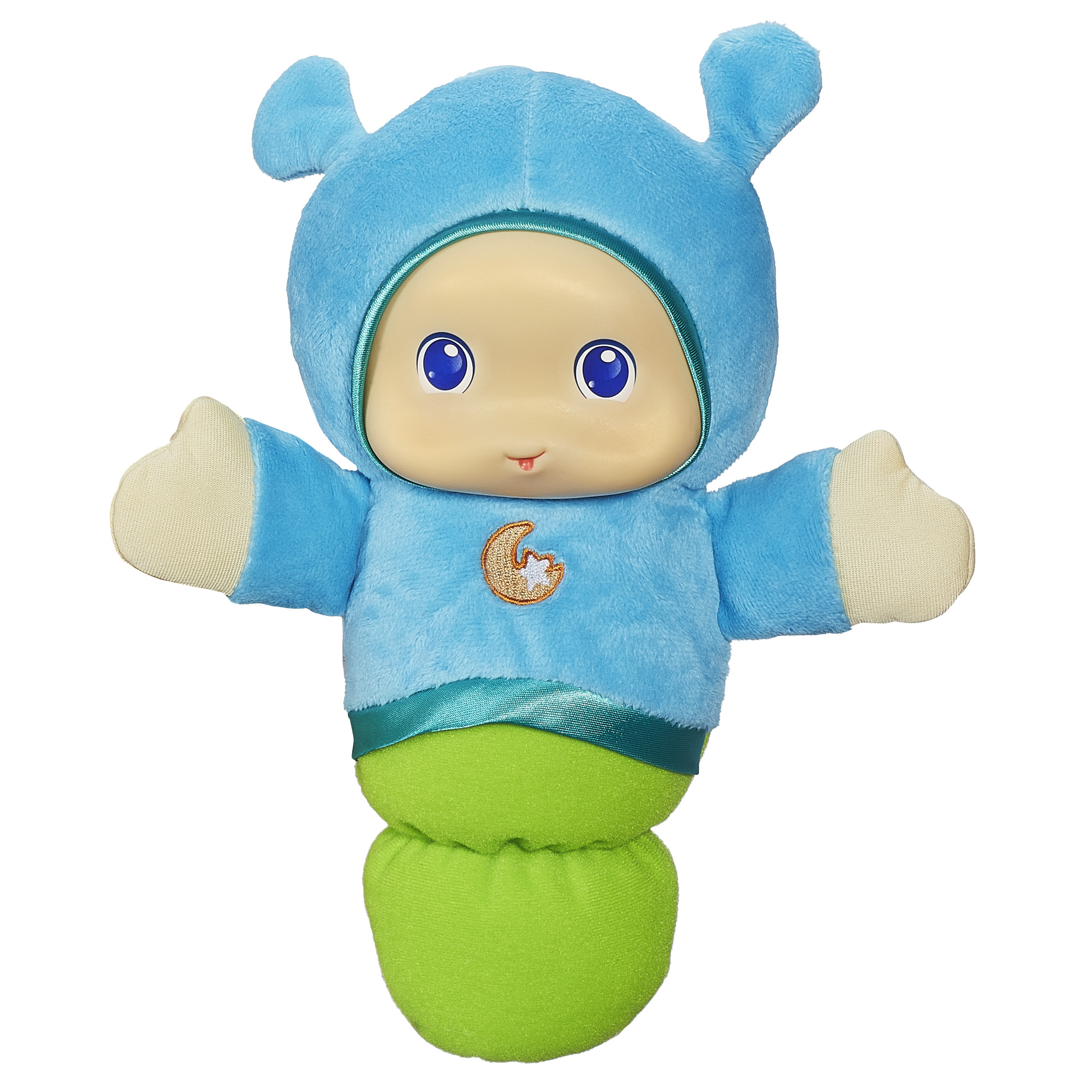 Playskool Lullaby Gloworm Blue by Playskool