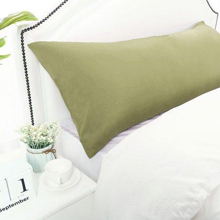 Piccocasa Body Pillowcase Microfiber Long Bolster Pillow
