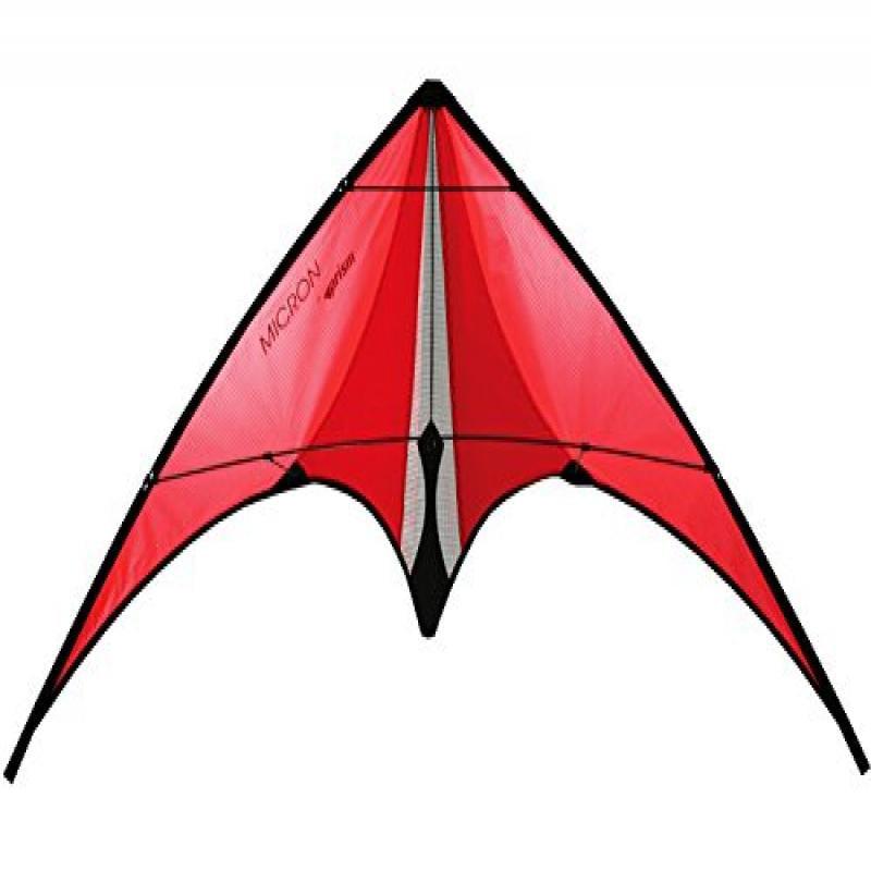 Prism Micron Dual-line Stunt Kite, Orange by