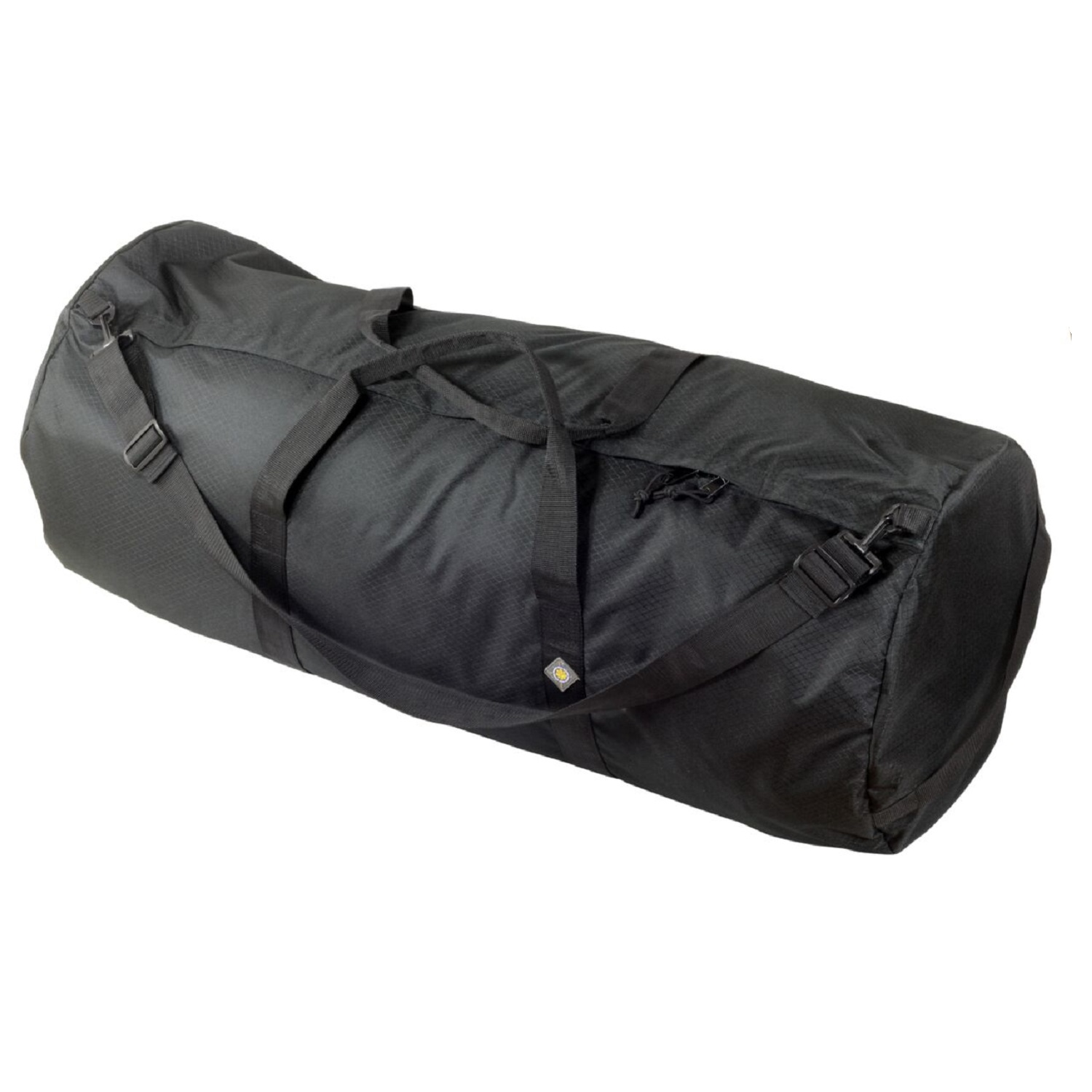 North Star Sport Duffle Bag 18in Diam 42in L-Midnight Black by North Star Sports