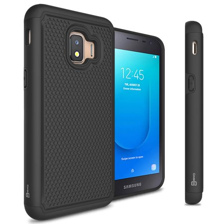 CoverON Samsung Galaxy J2 Core / J2 Pure / J2 Dash Case, HexaGuard Series Hard Phone (Core Pedal Case)