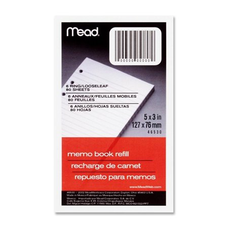 46530 Memo Book Refill Paper - 80 Sheets 3