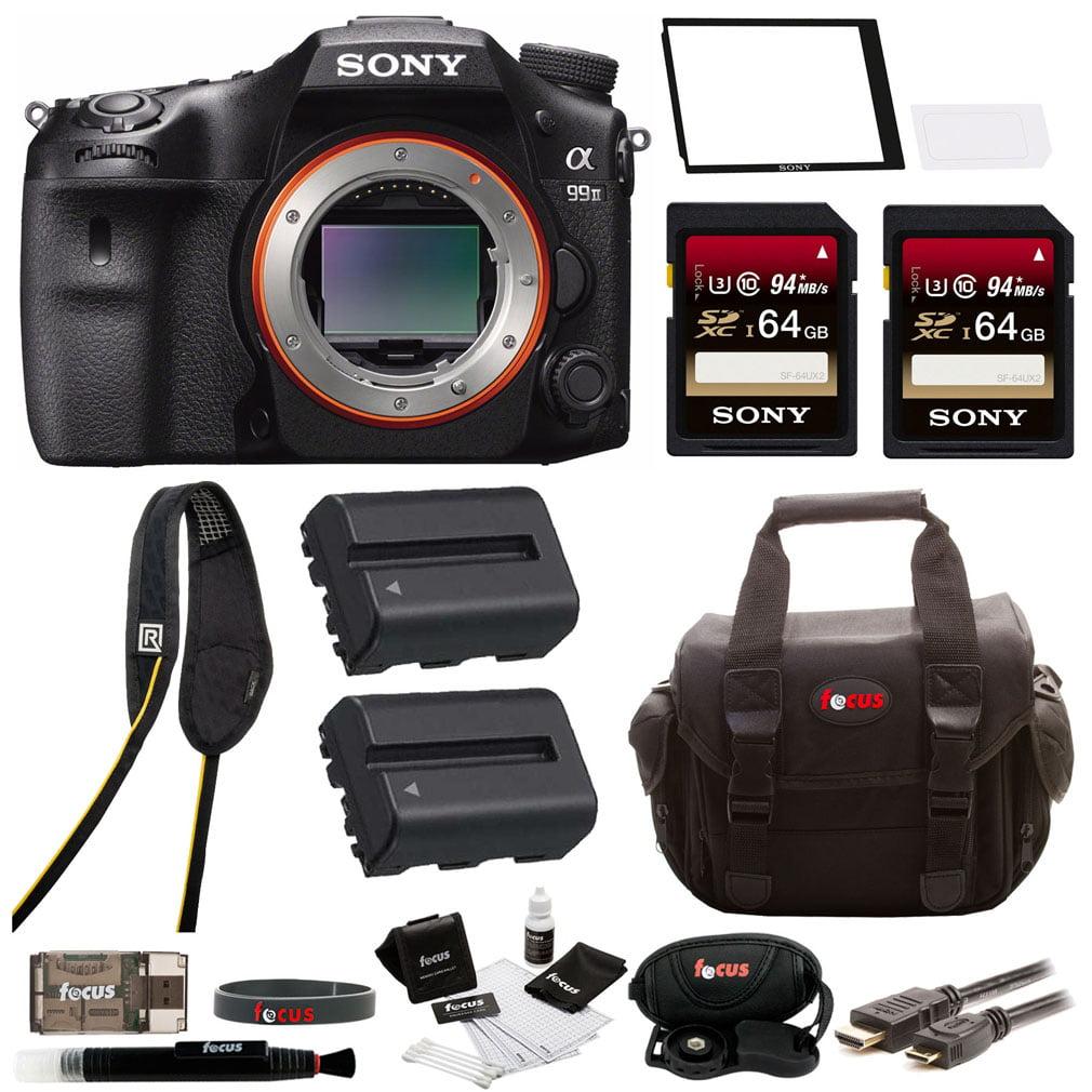 "Sony a99II 42.4MP Digital SLR Camera with 3"" LCD, Black (..."