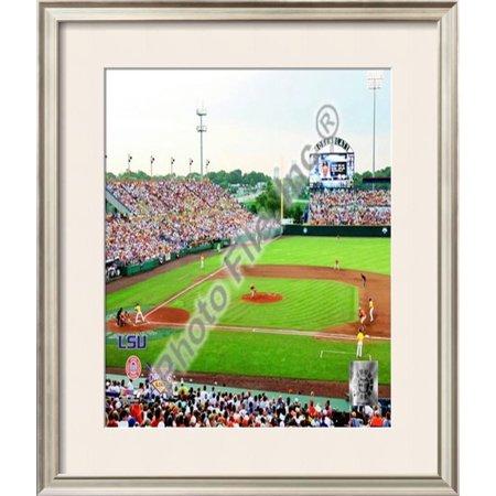 Rosenblatt Stadium 2009 College World Series Champs Framed Photographic Print Wall (World Series Champs Framed)